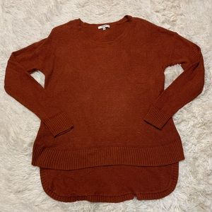 Madewell Rust Orange Sweater